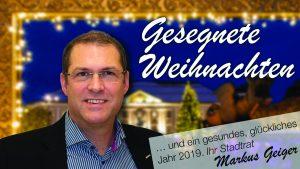 Stadtrat Markus Geiger und der ÖVP Gemeinderatsclub