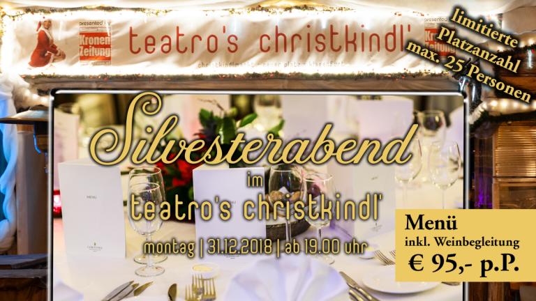 Silvester-Palast – Silvester im Teatro´s Christkindl am Christkindlmarkt