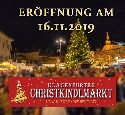 ERÖFFNUNG Klagenfurter Christkindlmarkt 2019
